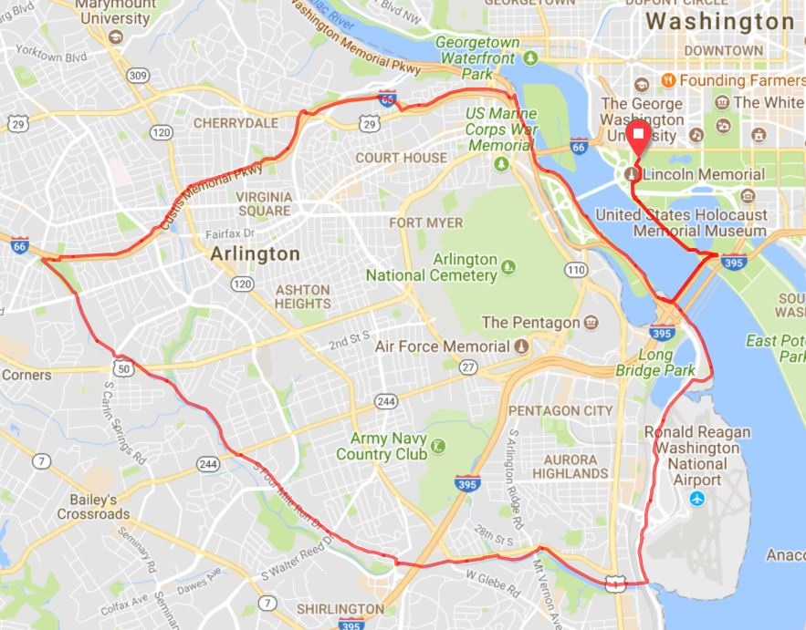 2018 One Common Unity Peace Ride Route RWGPS (2)