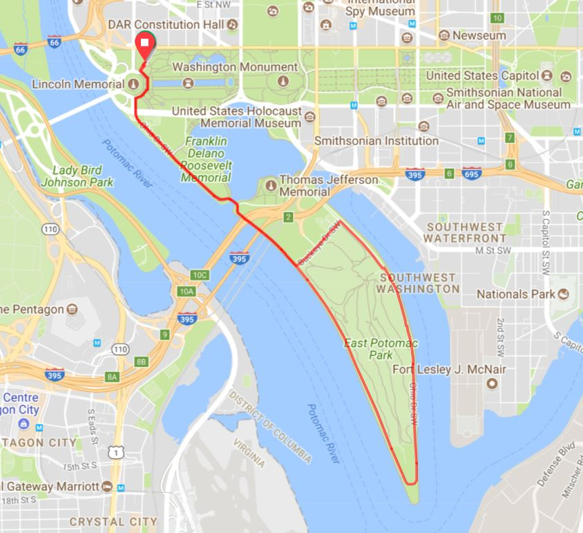 2018 One Common Unity Peace Ride Route RWGPS (6 miler)